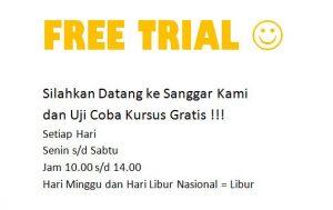 free trial tiap hari